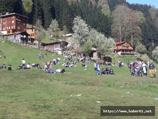 Ayder'de turizm sezonu açıldı