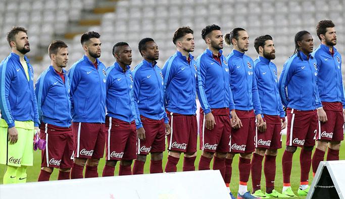 Trabzonspor 2017'de sadece 1 kez...