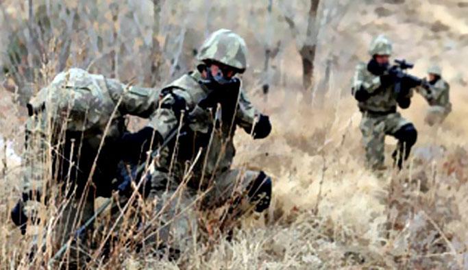 TSK açıkladı: Çatışmada 1 asker ve 1 korucu yaralandı