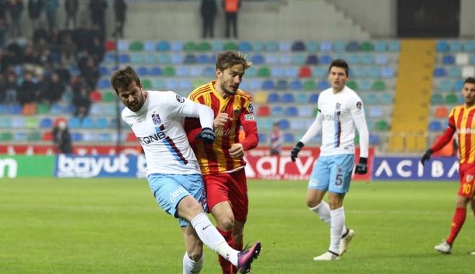 Trabzonspor Kayserispor maçının biletleri satışta
