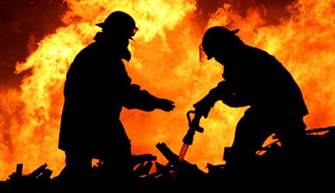 Trabzon'da yangın: 10 dönüm arazi zarar gördü