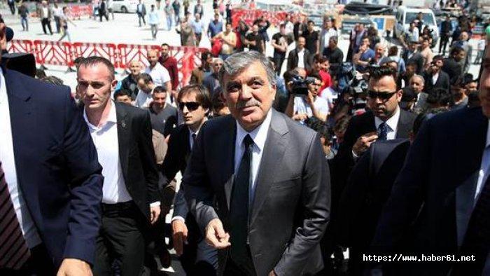 Abdullah Gül iddialara yanıt verdi.