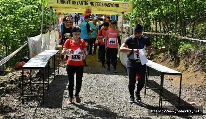 Trabzon'un ilk oryantiring şampiyonası başladı