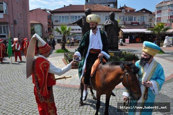Fatih Sultan Mehmet'in Amasra'yı fethi canlandırıldı