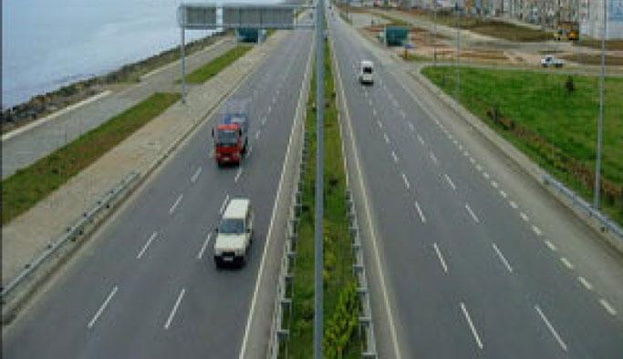 Karayolları Trabzon'daki yolu için uyardı