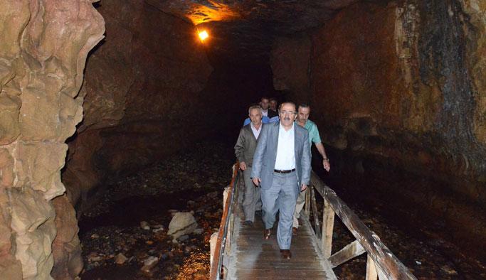 Trabzon'da Çal Mağarası bakıma alındı
