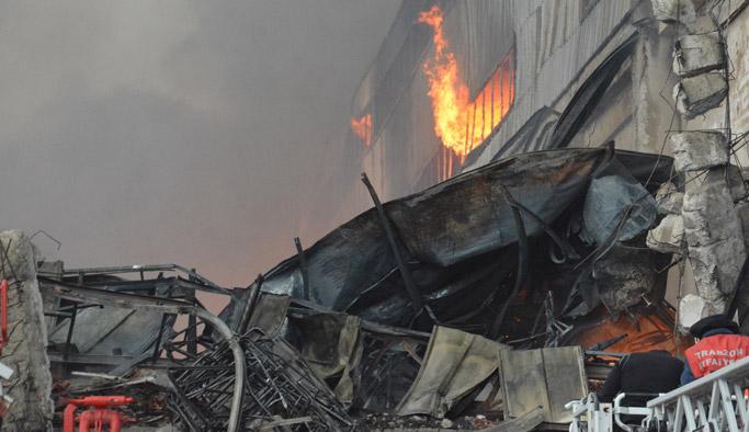 Arsin'deki yangınla ilgili ilk açıklama!