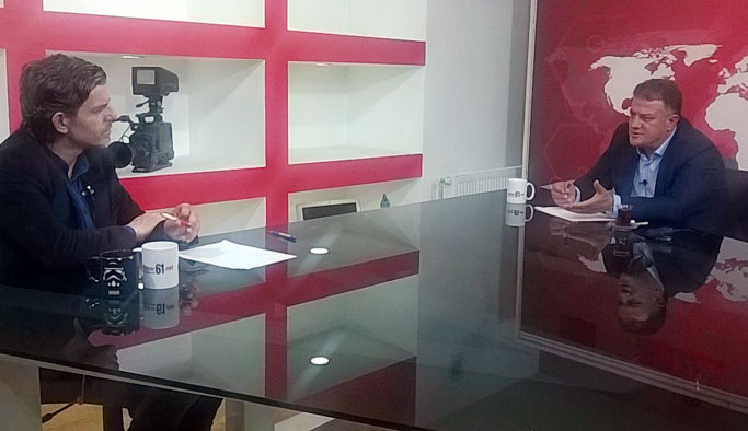 """Arsinspor Başkanı Kamil Ustaömer olaylı maçları Haber61 TV'de anlattı: """"Özür Diliyorum"""""""