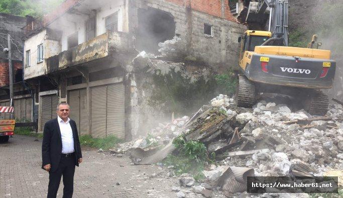 Yomra'da kentsel dönüşüm devam ediyor