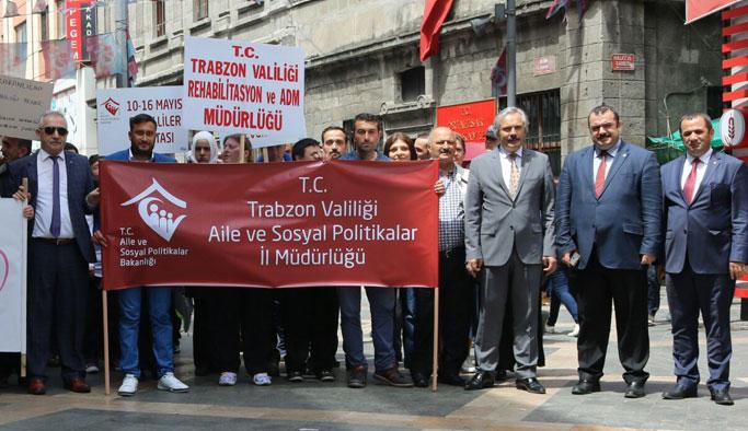Trabzon'da engelli fuarı açıldı