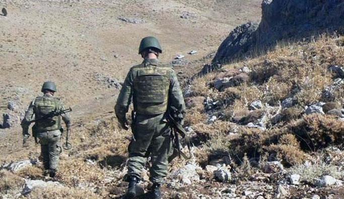 Üs bölgesine sızmak isteyen PKK'lılar öldürüldü