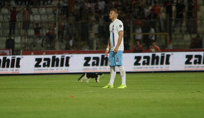 Trabzonspor'un savunmasına nazar değdi
