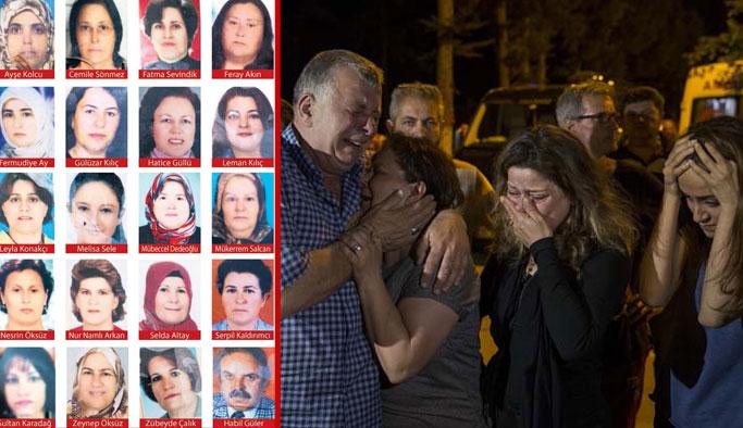 Tur otobüsü kazası: Cenazeler getirildi