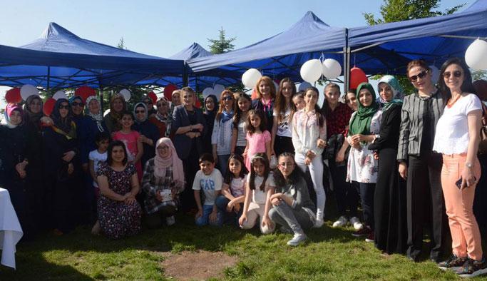 Trabzon'da Sevgi Evlerinde kalan çocuklar için bir araya geldiler