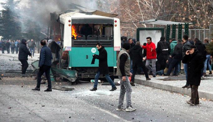 Kayseri'deki bombalı saldırının şüphelilerine müebbet hapis istemi