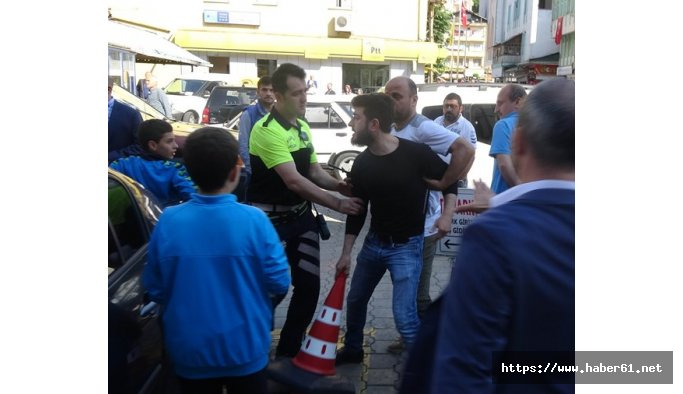 Rize'deki Adalet Yürüyüşü'nde kargaşa!
