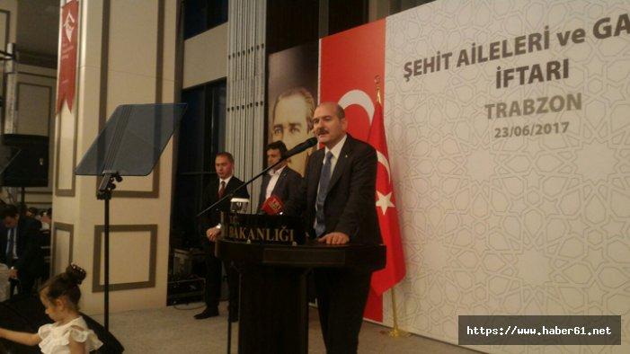 """Süleyman Soylu: """"Güçlü bir Türkiye olmak istiyoruz"""""""