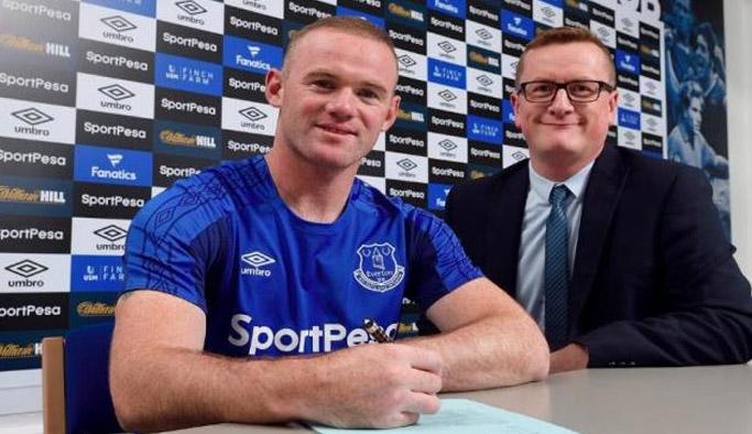 Rooney transfer oldu!