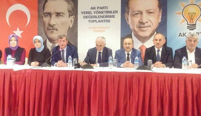Trabzon'da AK Parti Değerlendirme toplantısı