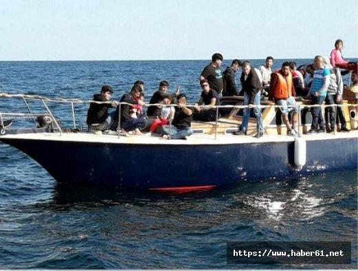 Karadeniz'de 54 kaçak göçmen yakalandı