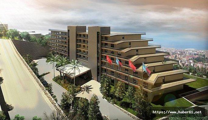 Boztepe'deki otel inşaatı Ortahisar'da gündem oldu