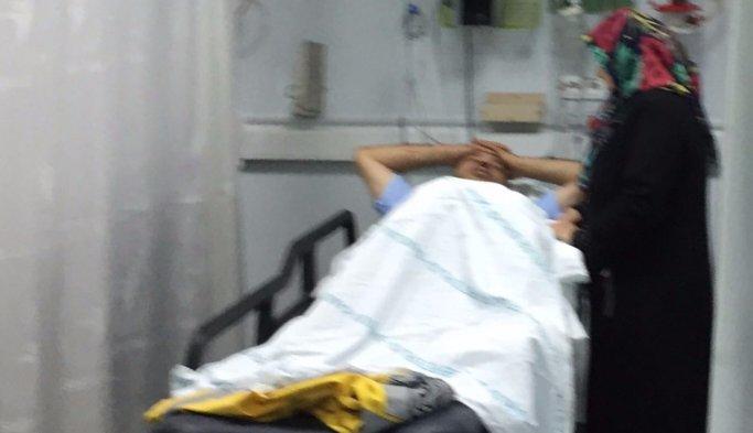Ambulans devrildi:  3 yaralı