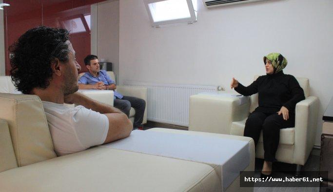 AK Partili Ayşe Sula Köseoğlu'ndan Haber61'e ziyaret