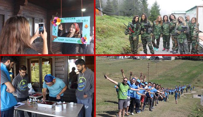 Trabzon'da bu kamp unutulmaz