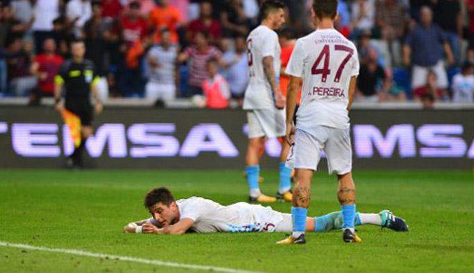 Trabzonspor'un dersi savunma
