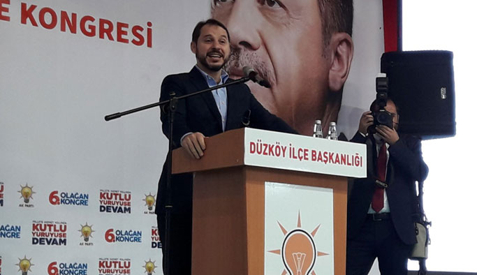 """Bakan Albayrak: """"Terörist cenazesine katılanlar Atatürk'ün adını anamazlar"""""""