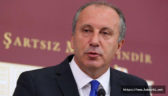 Muharrem İnce CHP Başkan adaylığını açıkladı