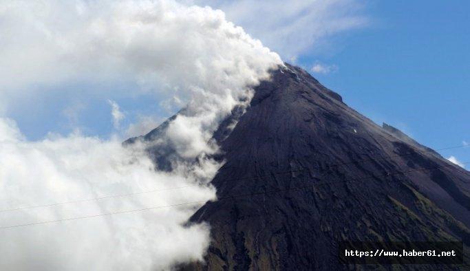 Mayon yanardağı için patlama uyarısı