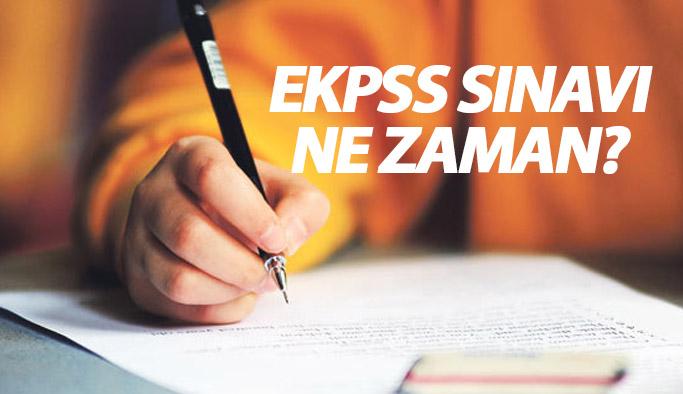 EKPSS başvuruları ve EKPSS sınavı ne zaman?