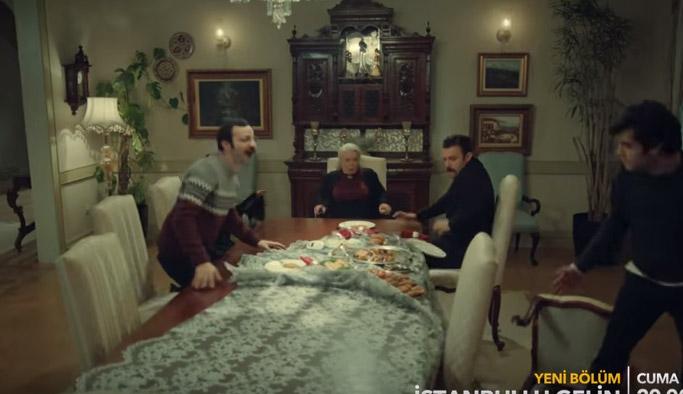 İstanbullu Gelin 34. bölüm fragmanında konakta şok gelişmeler