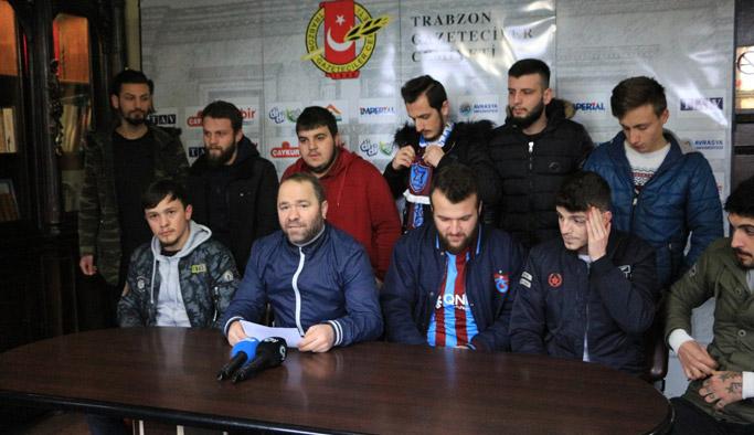 Trabzonspor taraftarları olay istemiyor