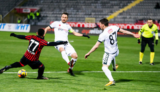 Gençlerbirliği Konyaspor'u devirdi