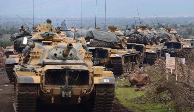 Afrin Zeytin Dalı Operasyonunda 8. gün