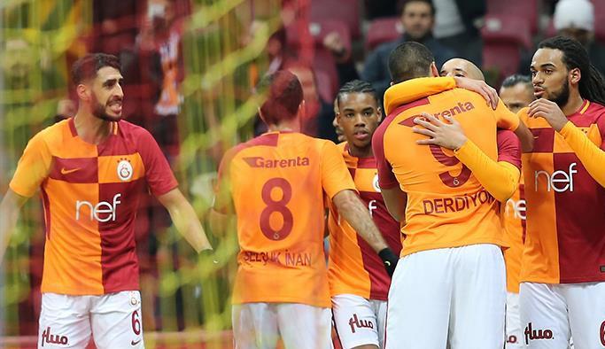 Galatasaray Osmanlı'yı yendi