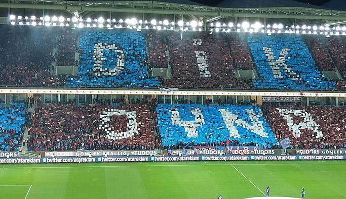 Trabzonspor tribününe sızmak isteyen Fenerliler yakalandı!
