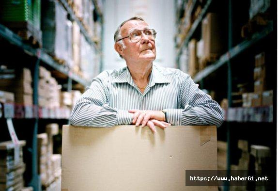Dünya mobilya devinin sahibi Ingvar Kamprad öldü