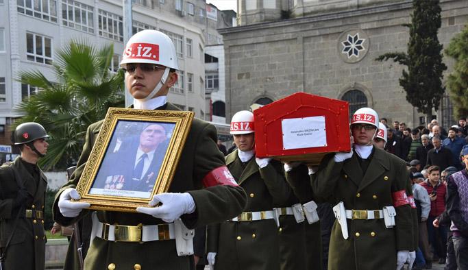Kore gazisi Erzincan son yolculuğuna uğurlandı