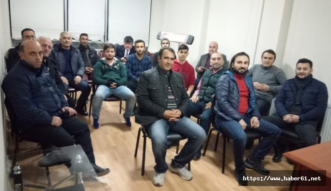 Van Trabzonsporlular Derneği yönetimi üyeleri ile buluştu