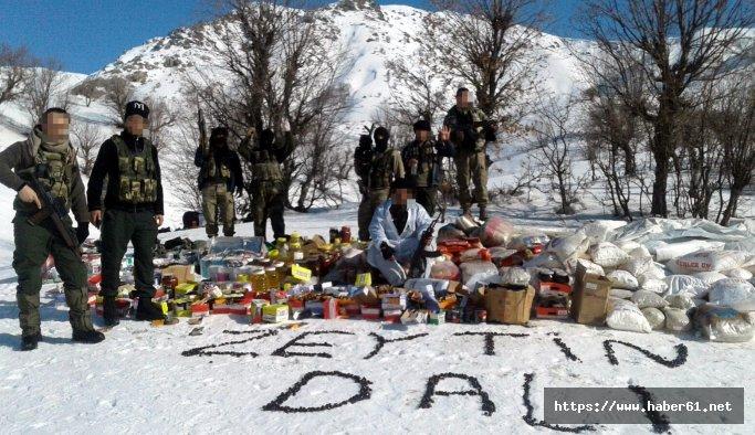 Bingöl'de operasyondaki askerlerden Afrin'e destek mesajı