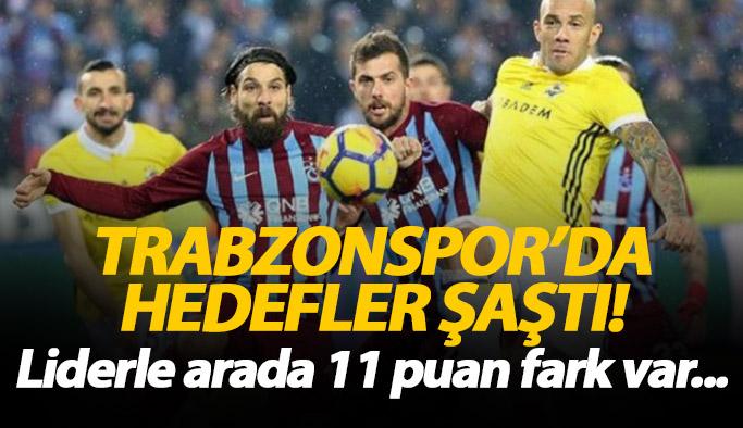 Trabzonspor liderin 11 puan gerisinde kaldı