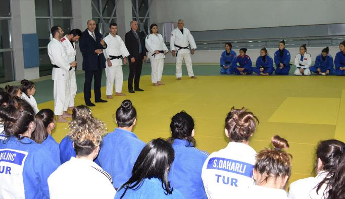 Judo Milli takımı Trabzon'da
