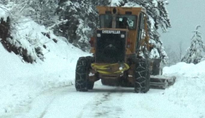 Artvin'de kar ulaşımı vurdu