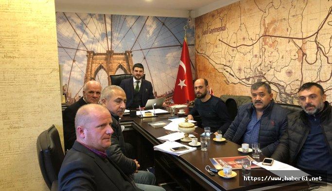 Trabzon İnşaatçılar Esnaf ve Sanatkarlar Odası seçimlerinde güç birliği
