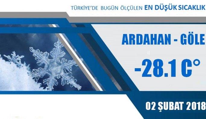Doğu Anadolu buz tuttu!