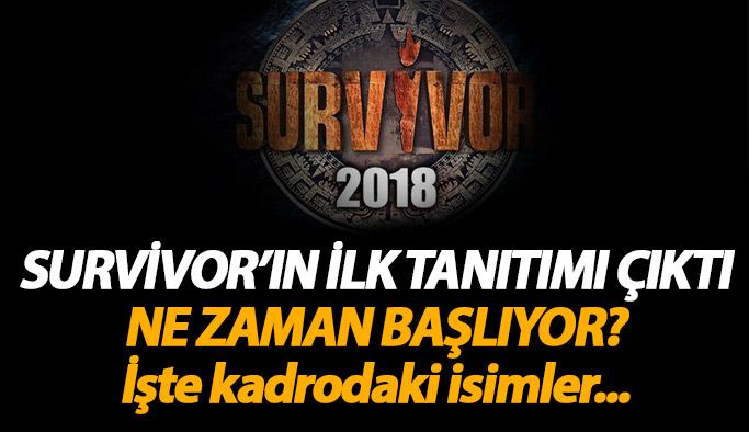 Survivor 2018 ne zaman başlıyor? İşte ilk tanıtım ve Survivor kadrosu