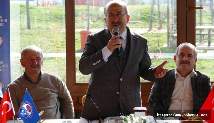 Trabzon'da kırsal mahallelere su ulaştırılıyor